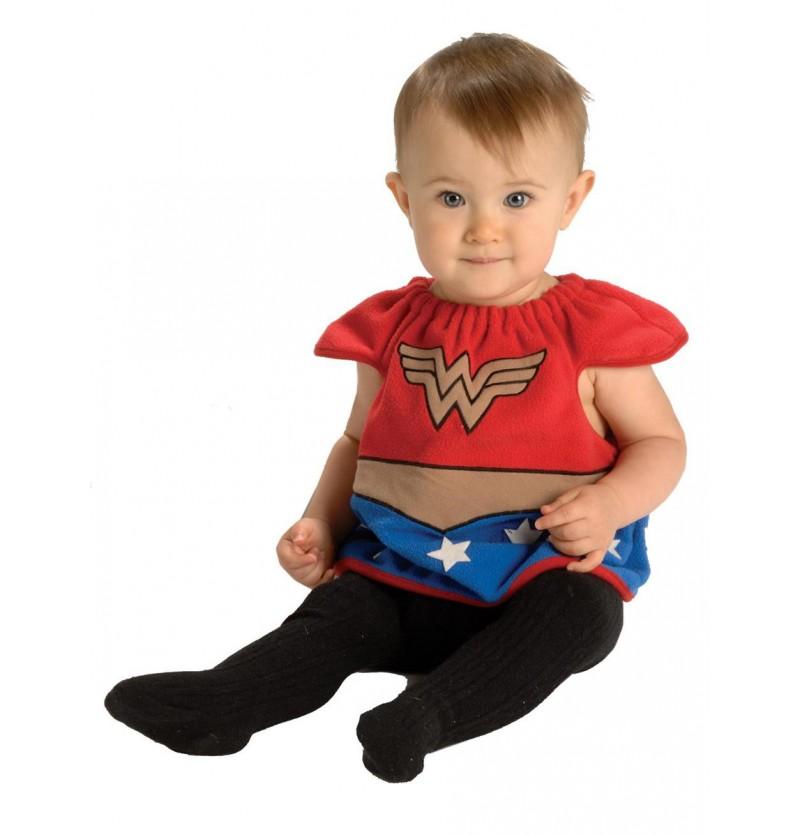 Disfraz de Wonder Woman DC Comics deluxe para bebé