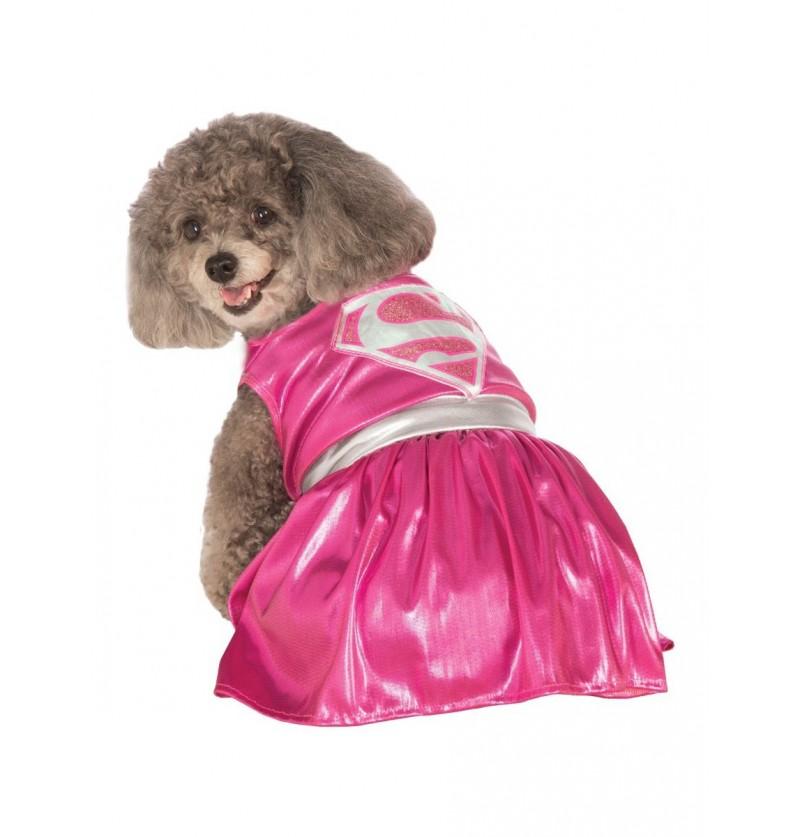 Disfraz de Supergirl para perro