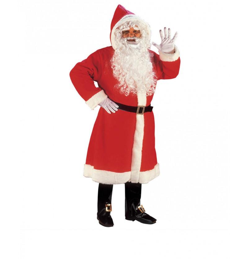 Disfraz de Papá Noel deluxe para hombre