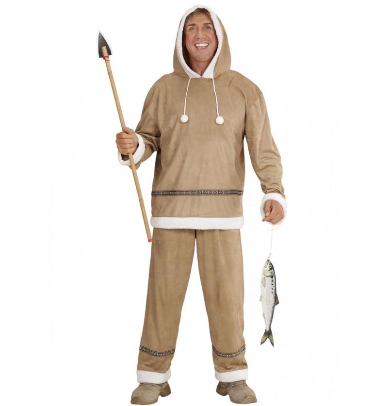 Disfraz de esquimal para hombre