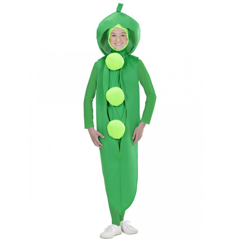 Disfraz de guisante para niño