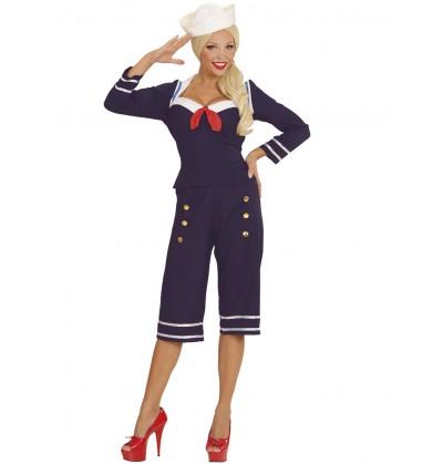 640aa6bf1 Disfraz de marinera de los años 50's para mujer