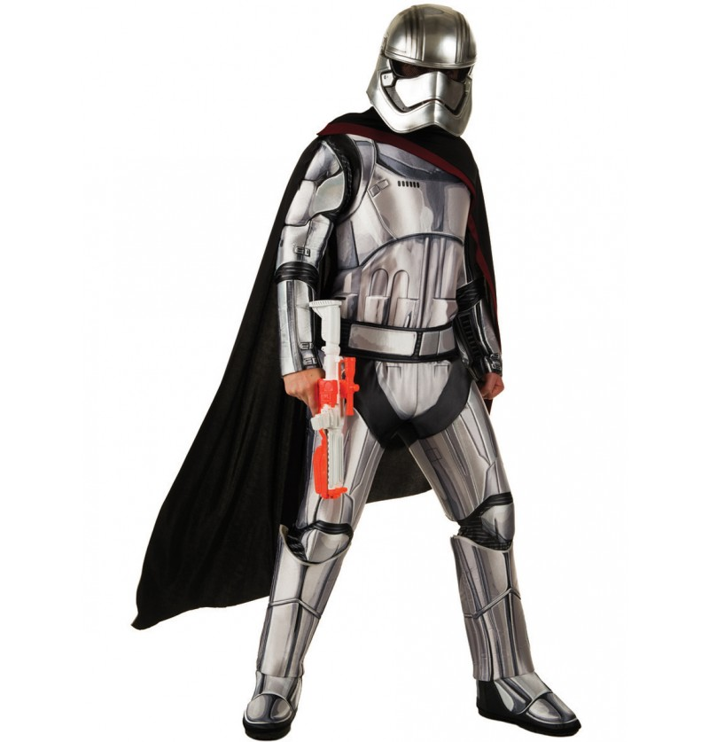 Disfraz de Capitán Phasma Star Wars Episodio 7 deluxe para adulto