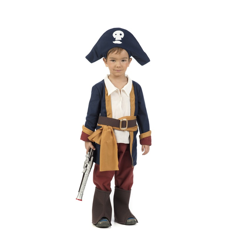 disfraz de pirata chico para beb