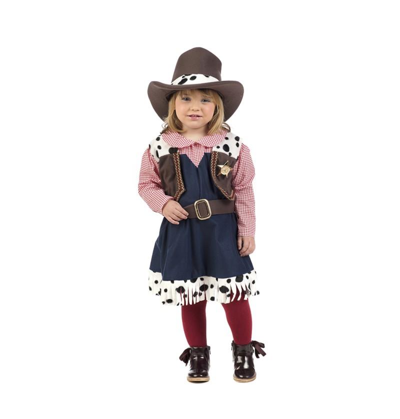 disfraz de vaquera elegante para beb