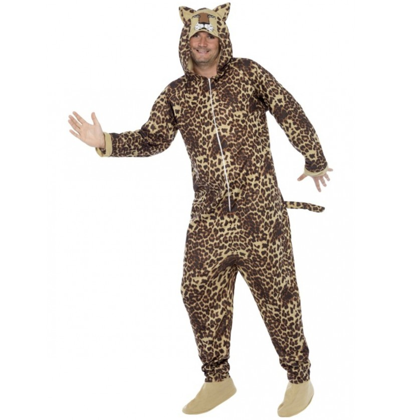Disfraz de leopardo para hombre