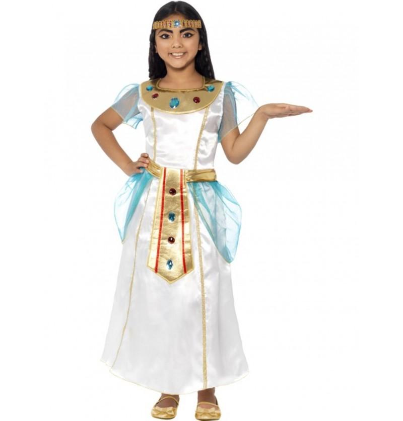 Disfraz de Cleopatra adorable para niña