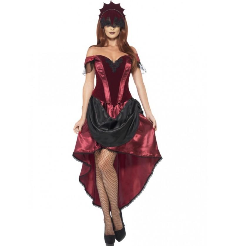 Disfraz de veneciana tentadora para mujer