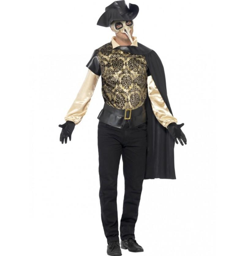 Disfraz de Doctor de la Peste para hombre