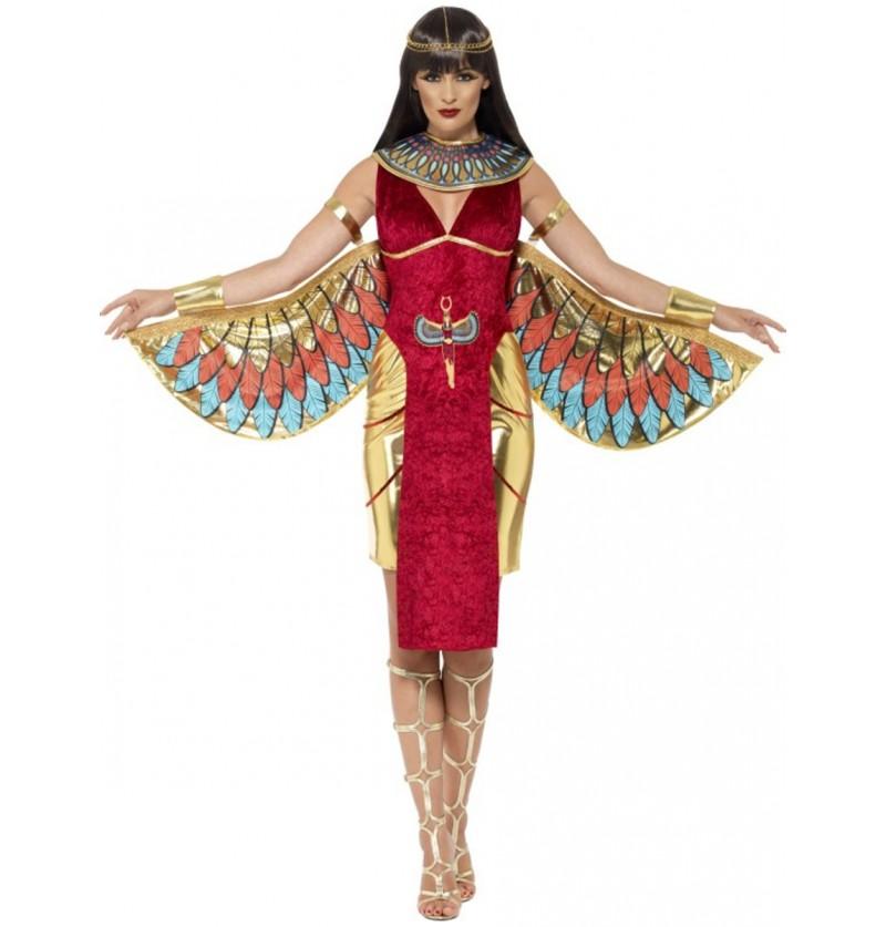 Disfraz de diosa Isis egipcia para mujer