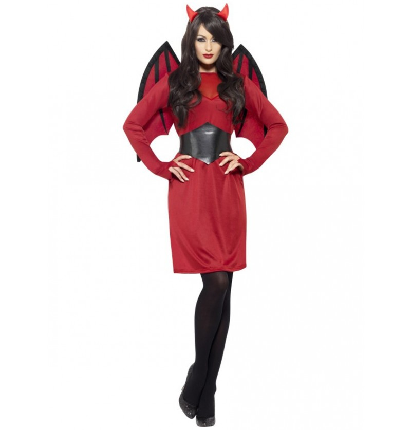 Disfraz de diablita classic para mujer
