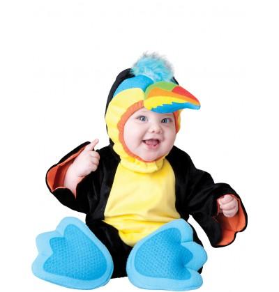 disfraz de tucn colorido para beb