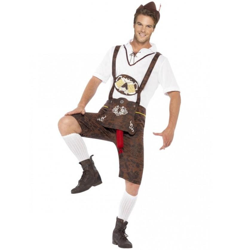 Disfraz de bávaro alegre para hombre