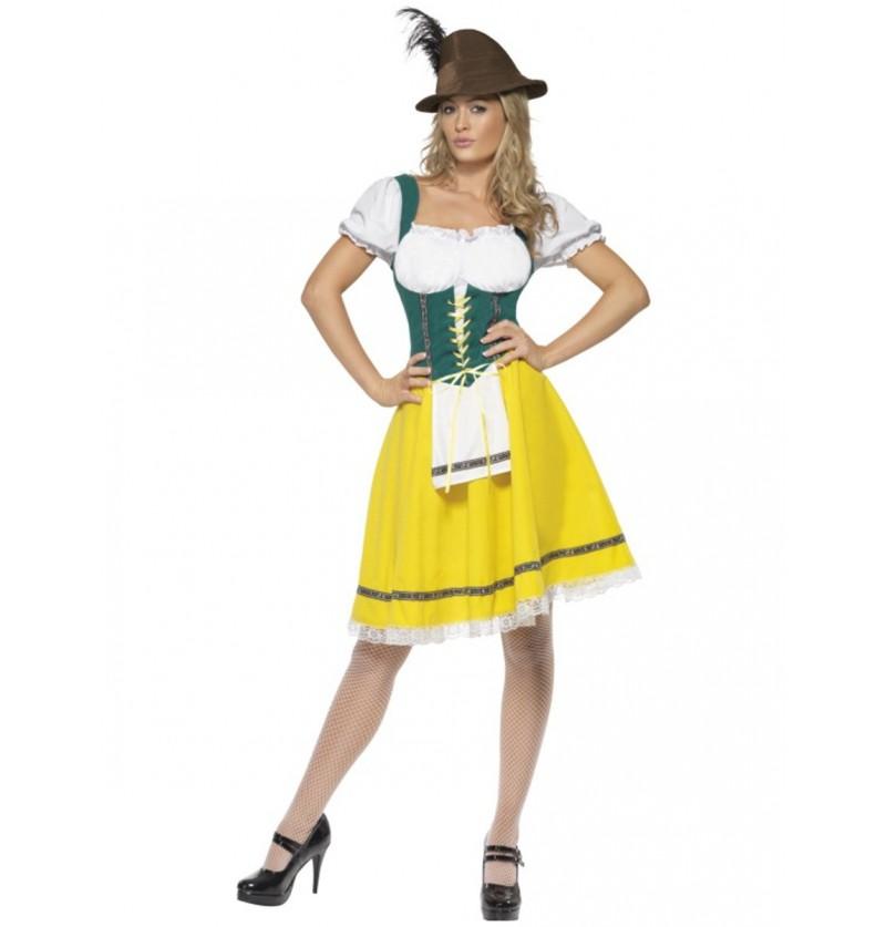 Disfraz de mujer oktoberfest para mujer