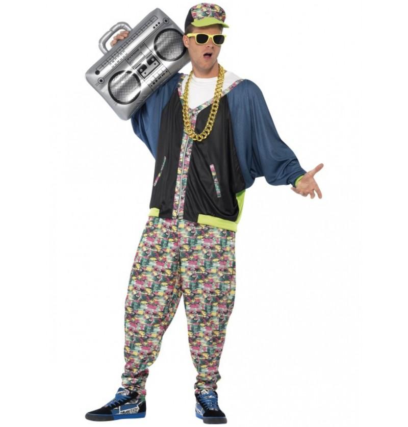 Disfraz de hip hop de molón para hombre