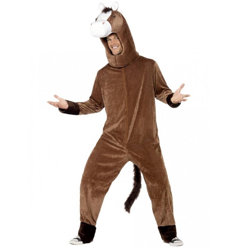 Disfraz de caballo deluxe para hombre