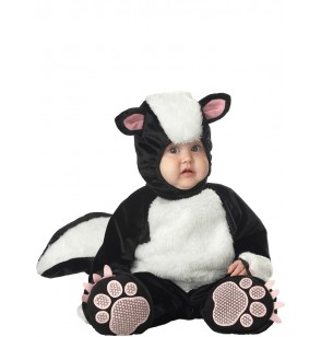 disfraz de mofeta encantadora para beb