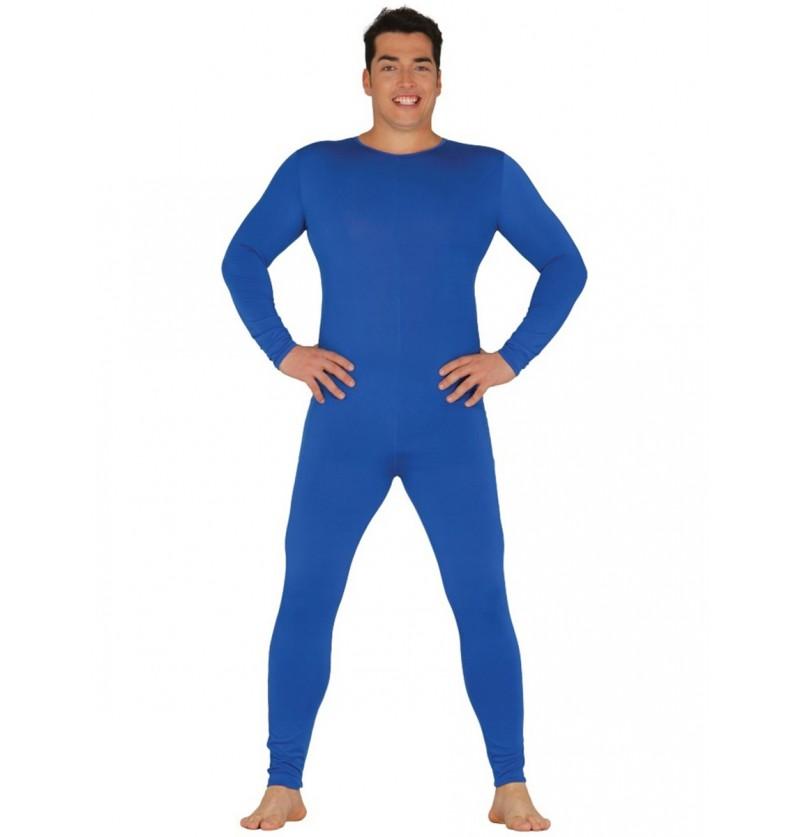 Mono azul para hombre