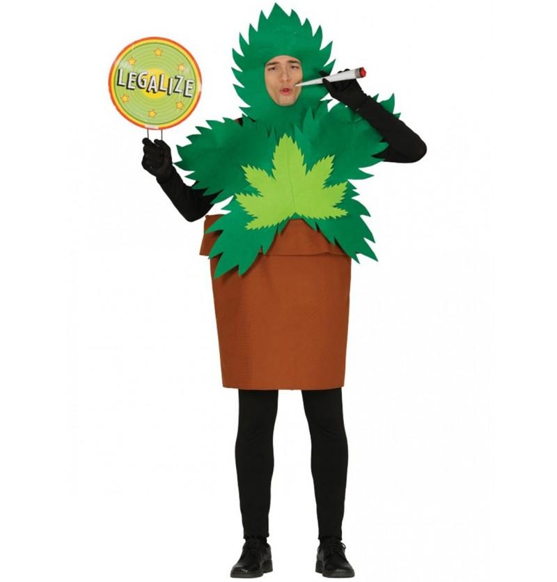 Disfraz de planta María para hombre