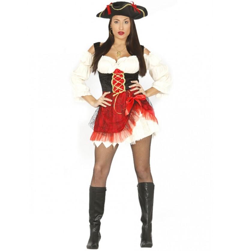 Disfraz de pirata sensual para mujer