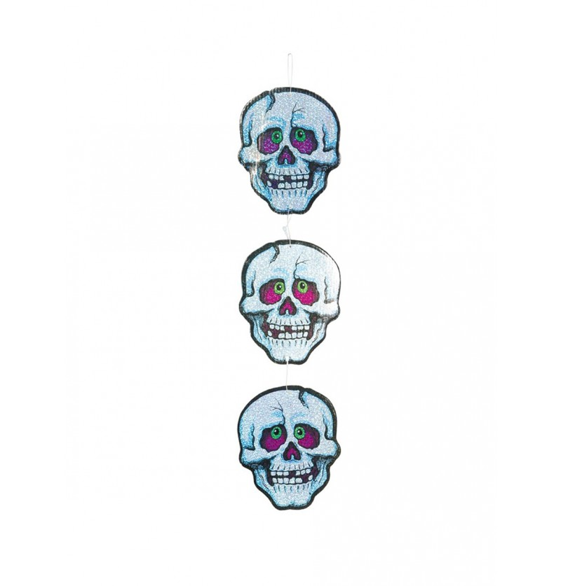Calaveras decorativas de Halloween