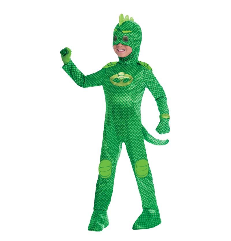 disfraz de gekko pj masks deluxe para nio