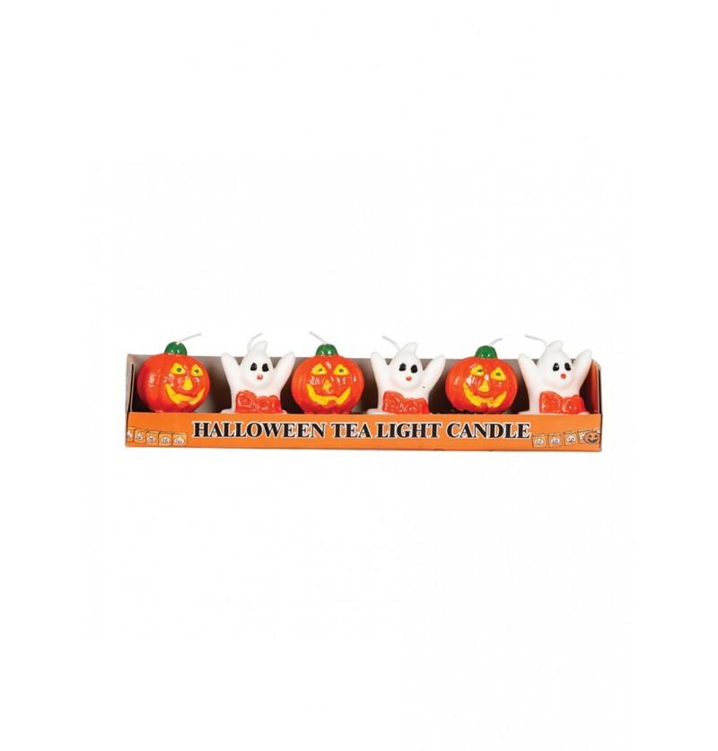 Set de 6 velas Halloween