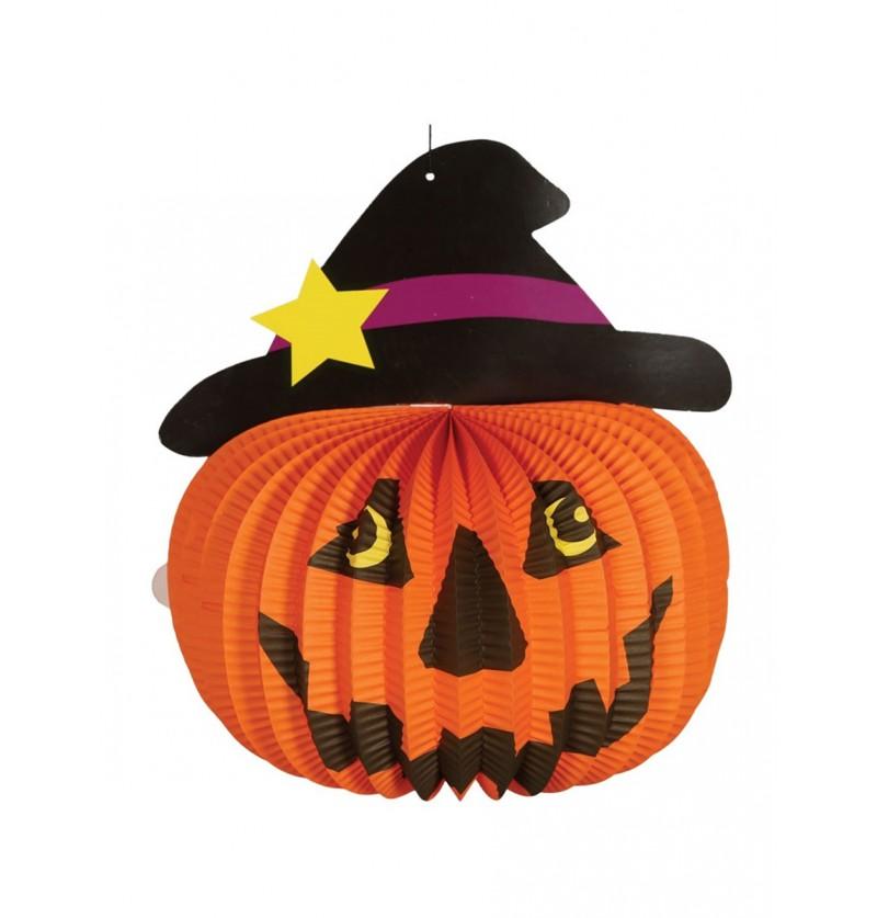 Farol de calabaza Halloween