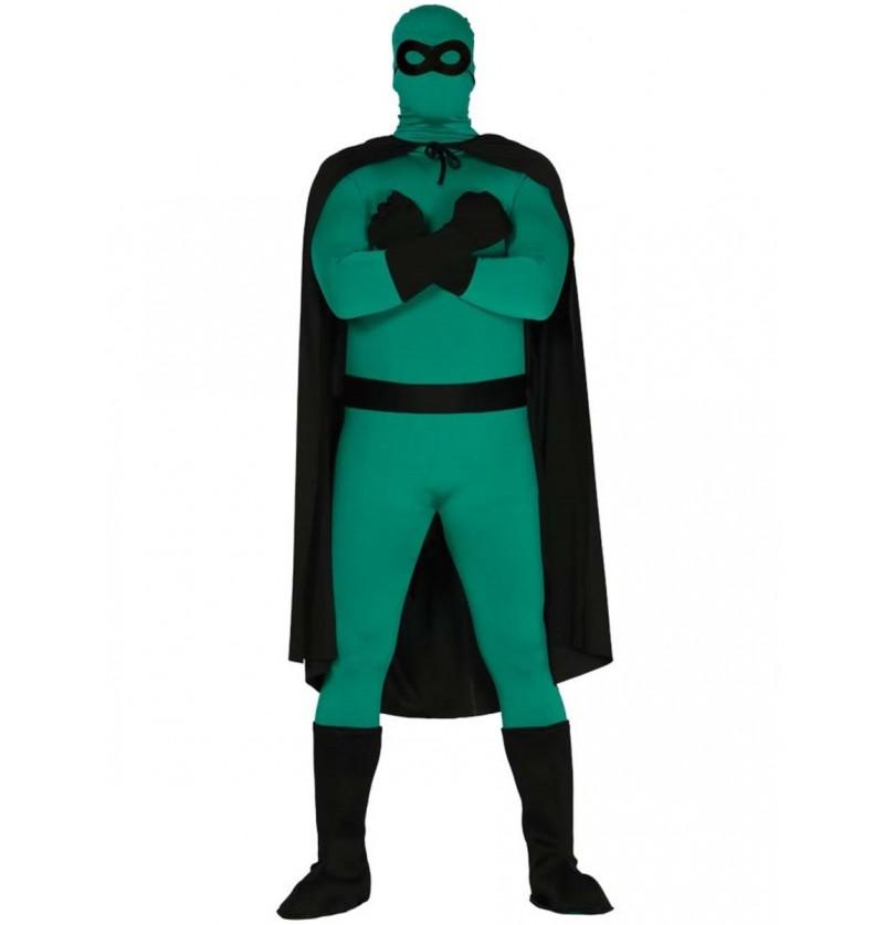 Kit disfraz de superhéroe negro