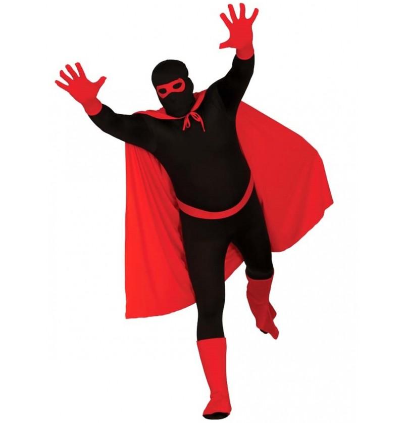 Kit disfraz de superhéroe rojo