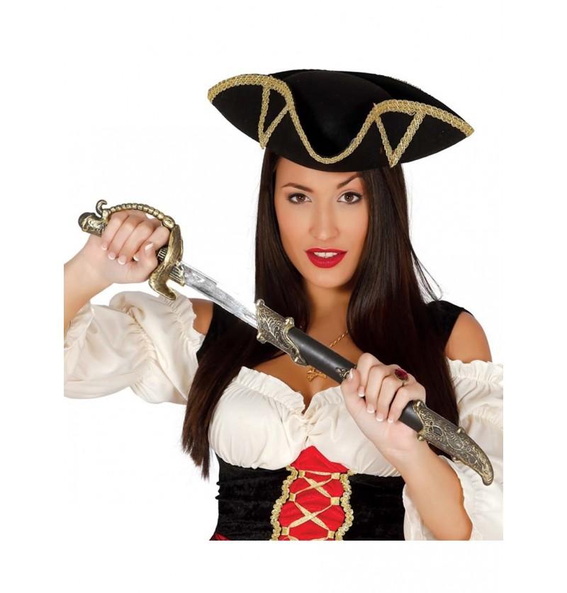 Espada con funda de pirata