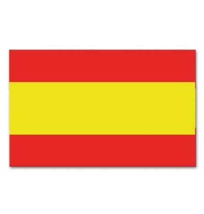 bandera de espaa de plstico
