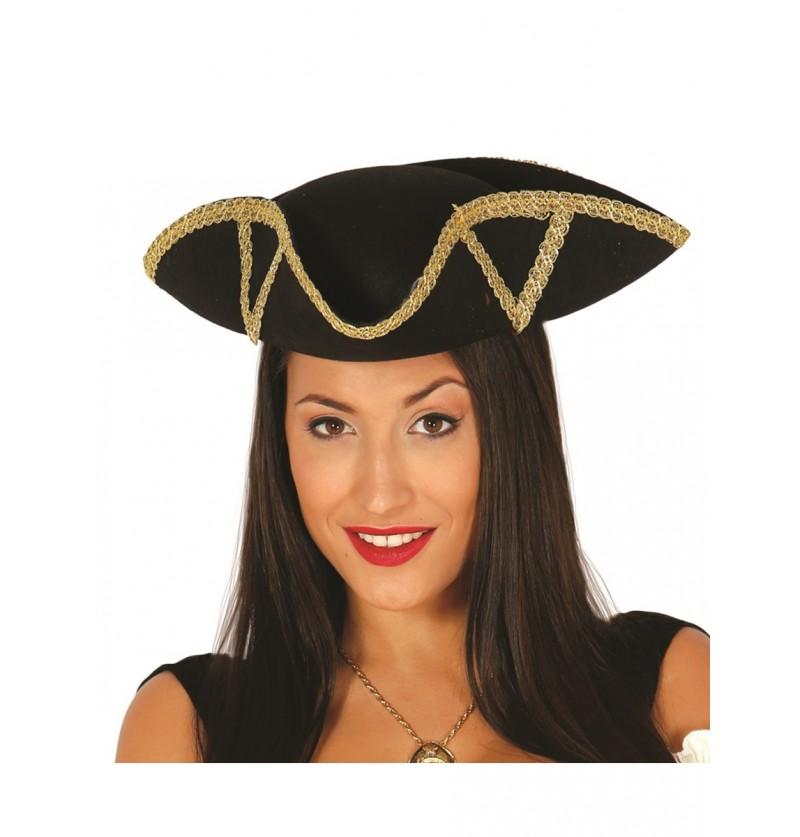 Sombrero de almirante para mujer