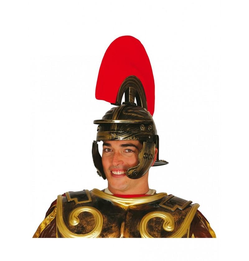 Casco de centurión romano para hombre