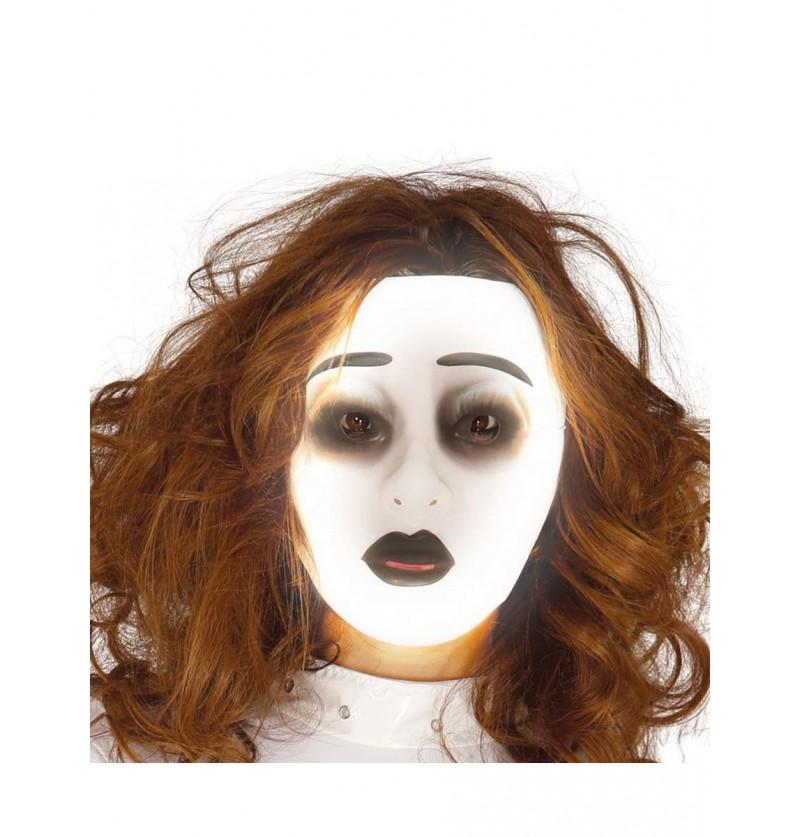 Máscara de fantasma luminoso para mujer