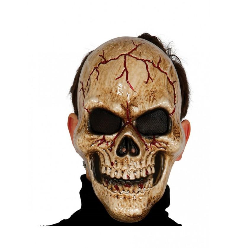 Máscara esqueleto de las tinieblas
