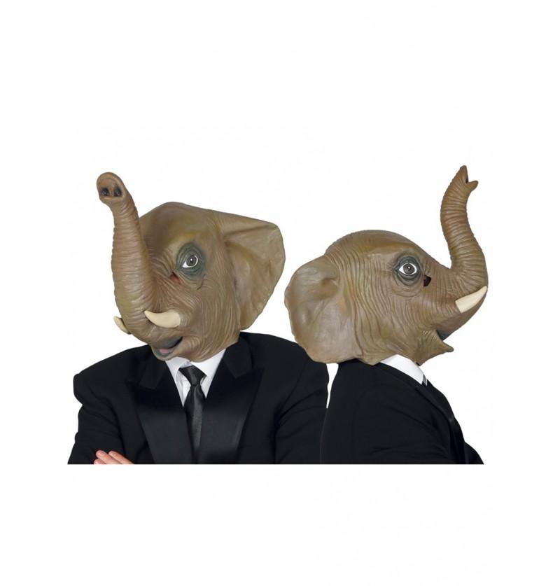 Máscara de elefante elegante