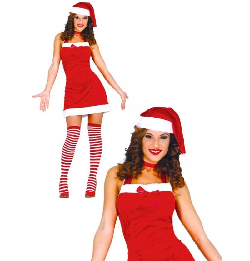 Disfraz de Mama Noel atrevida para mujer