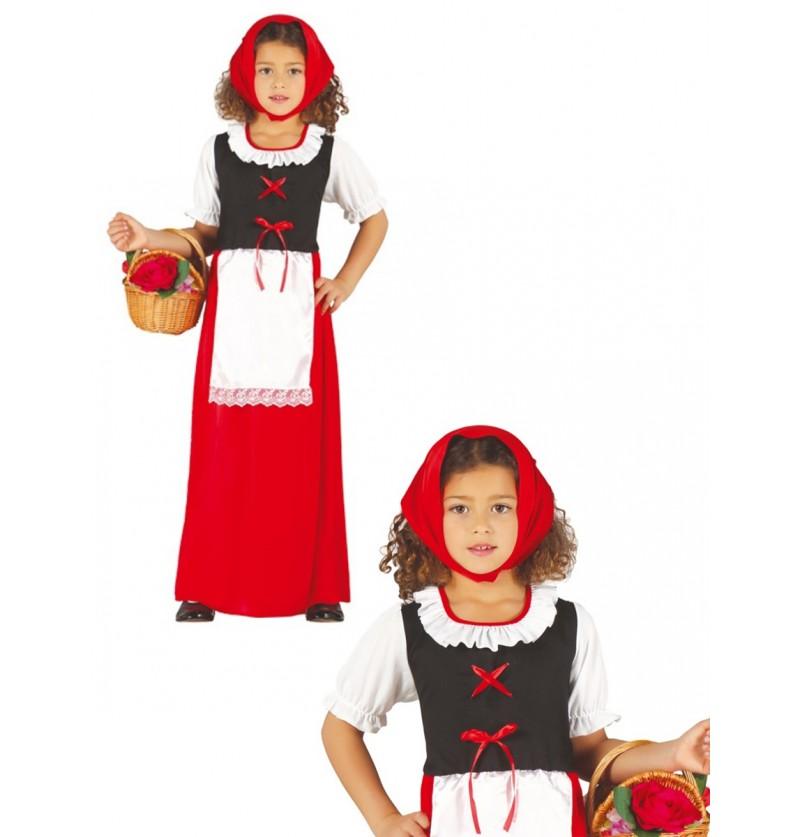 Disfraz de pastorcita clásica para niña