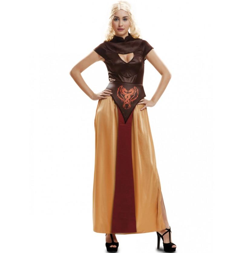 Disfraz de Reina Dragón guerrera para mujer