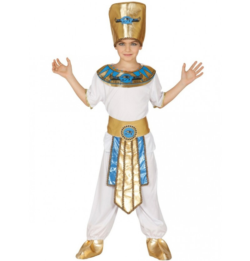 Disfraz de faraón milenario para niño