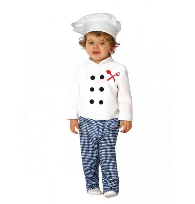 Disfraz de pequeño cocinero para bebé