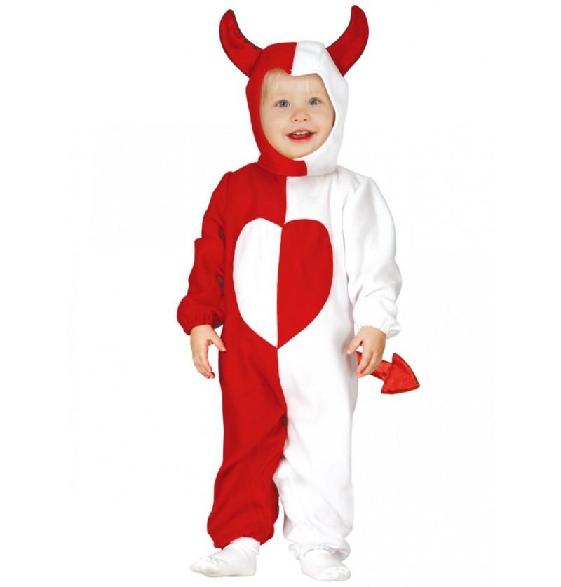 Disfraz de ángel y demonio para bebé