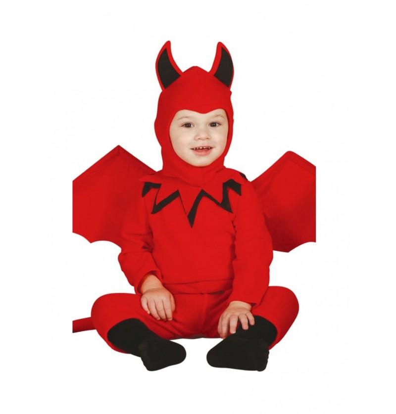 Disfraz de diablo para bebé
