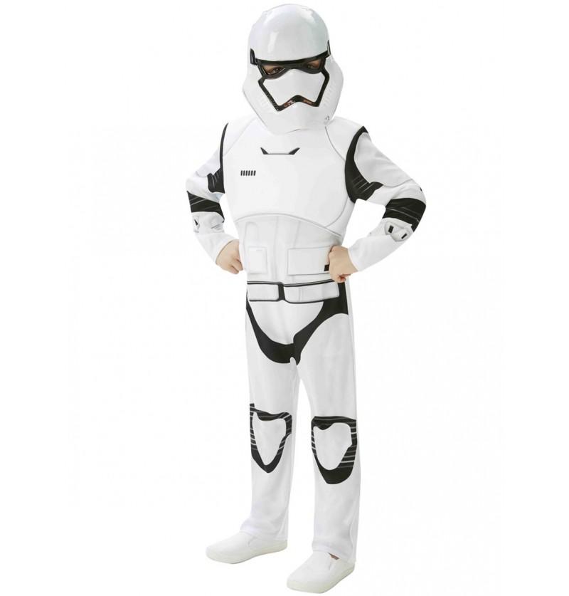 Disfraz de Stormtrooper Episodio 7 deluxe para niño