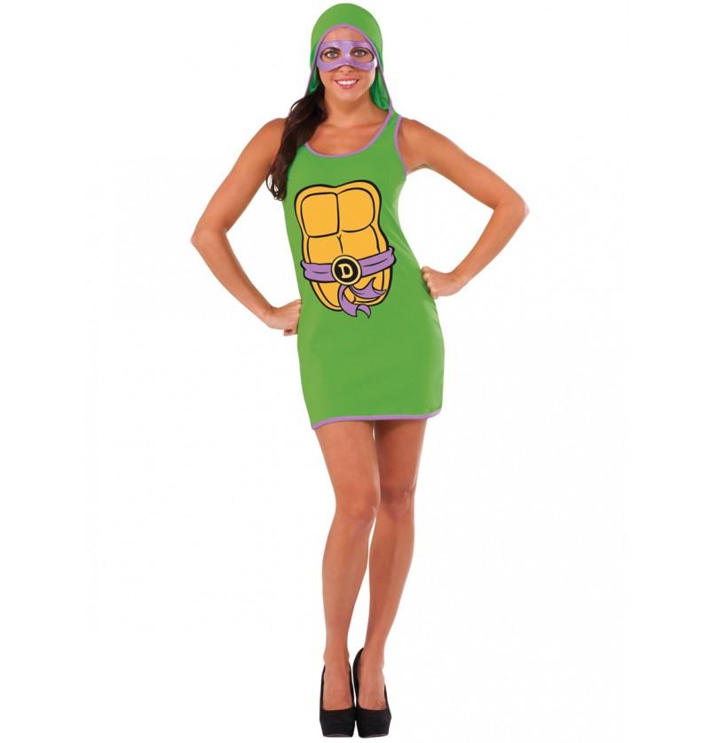 Vestido de Donatello Las Tortugas Ninja para mujer