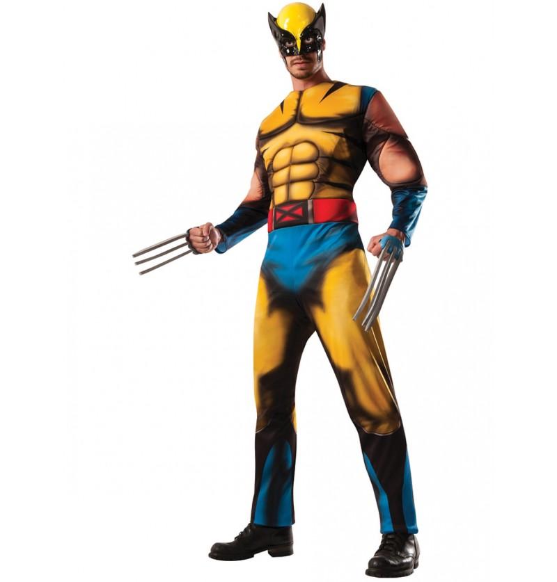 Disfraz de Lobezno Marvel deluxe para adulto