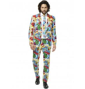 traje marvel comics opposuit para hombre