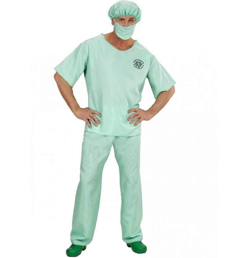 Disfraz de médico de urgencias para hombre