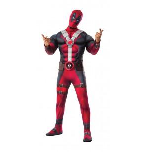 disfraz de deadpool musculoso para adulto